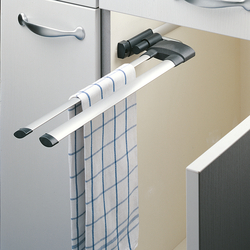 Hailo Secco Towel Rail with 2 bars