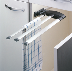 Hailo Secco Towel Rail with 3 bars
