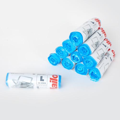 Hailo Design 4 Waste Bin White