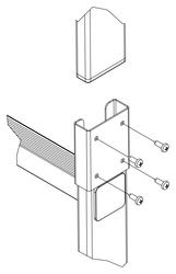 Leiternverbinder Holm 60x20mm
