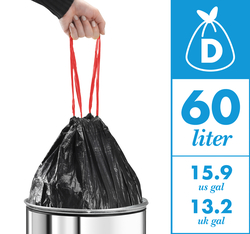 60l bin liners