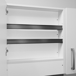 Shelf for extractor fan units