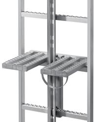 Ruhepodest 2-tlg. klappbar zur Leitermontage