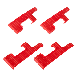 Set Stufenabschlüsse (4 Stück) rechts & links